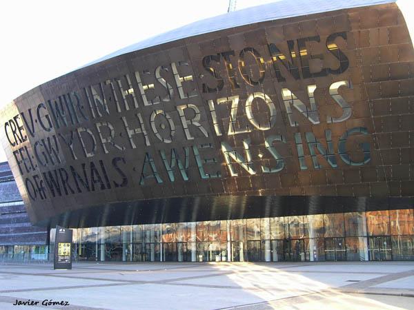 Wales Millenium Center en Cardiff