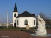 Iglesia noruega en la bahía
