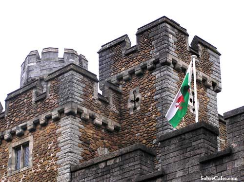 Mapa de los Castillos de Gales
