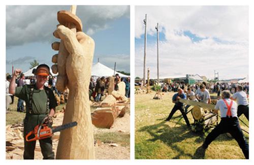 Woodfest Wales, el amor a la madera