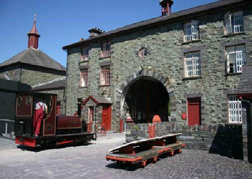 El Museo Nacional de la Pizarra en Gwynedd